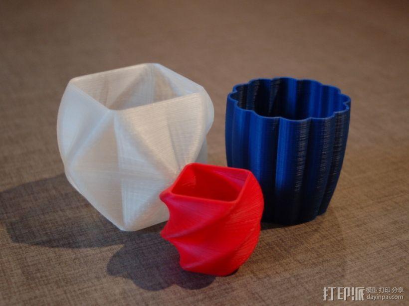 个性化花瓶/杯子 3D模型  图1