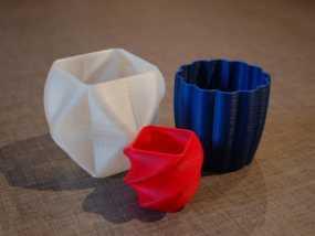 个性化花瓶/杯子 3D模型