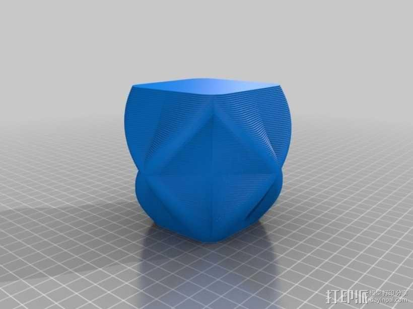 个性化花瓶/杯子 3D模型  图3