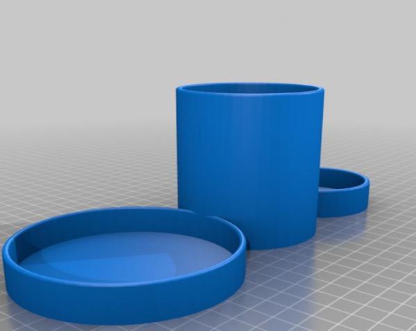 多功能咖啡架 3D模型  图2