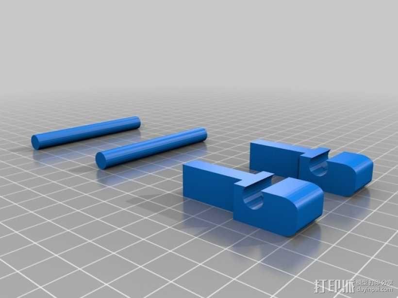 迷你藏宝箱 3D模型  图2