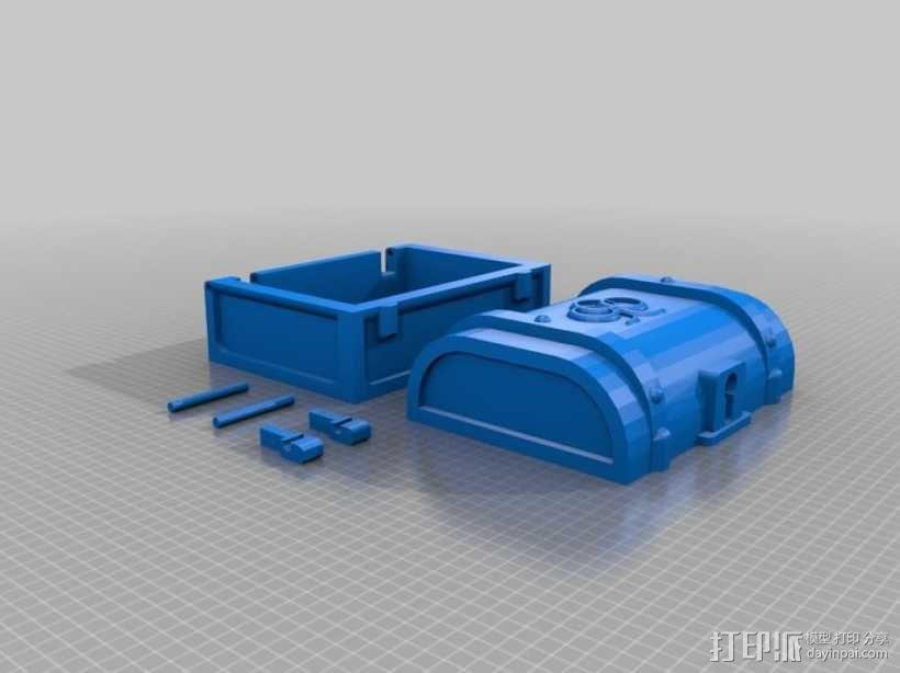 迷你藏宝箱 3D模型  图4