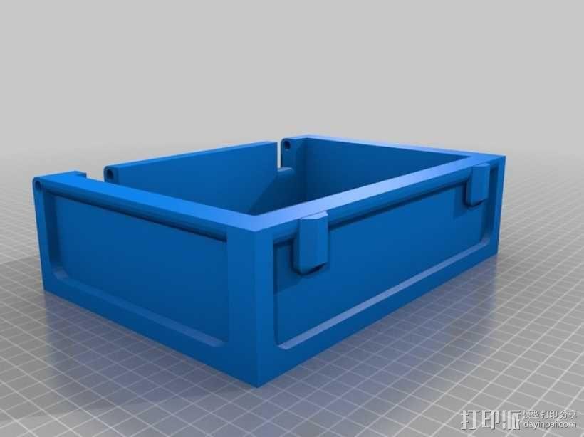 迷你藏宝箱 3D模型  图3