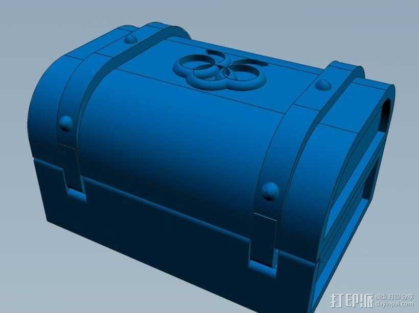 迷你藏宝箱 3D模型  图6