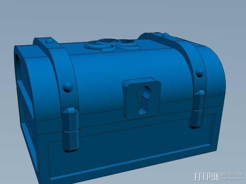 迷你藏宝箱 3D模型  图7