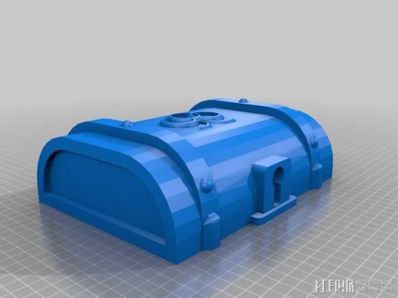 迷你藏宝箱 3D模型  图5
