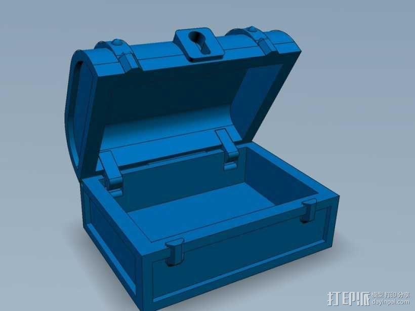 迷你藏宝箱 3D模型  图9