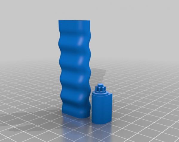 胶囊分发器装置 3D模型  图2