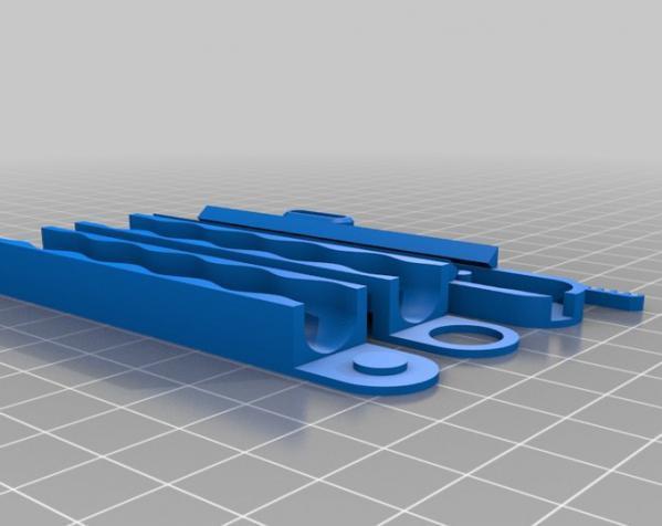 胶囊分发器装置 3D模型  图3