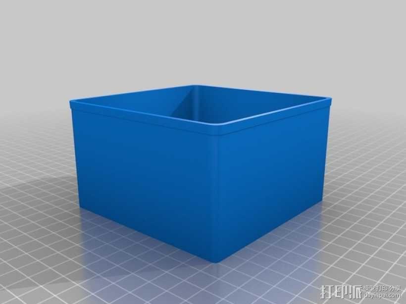 定制化Sortimo盒子 3D模型  图5