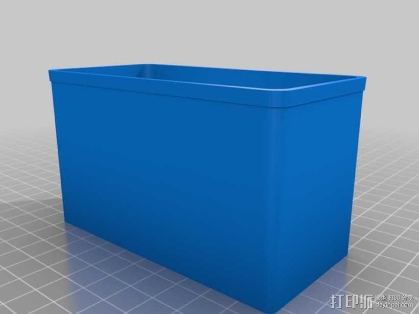 定制化Sortimo盒子 3D模型  图4