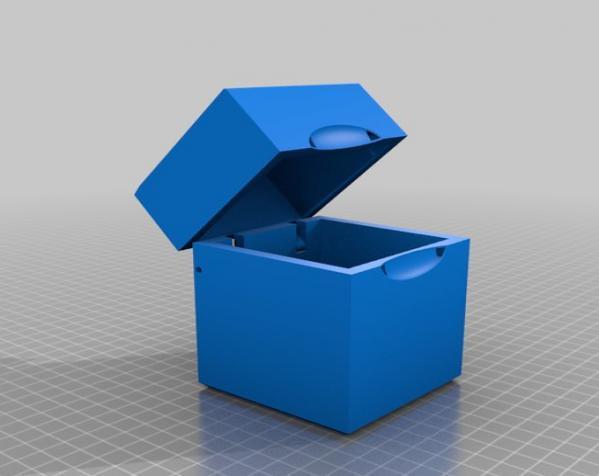 参数化收纳盒 3D模型  图4