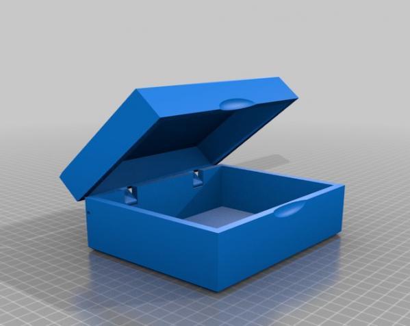 参数化收纳盒 3D模型  图6