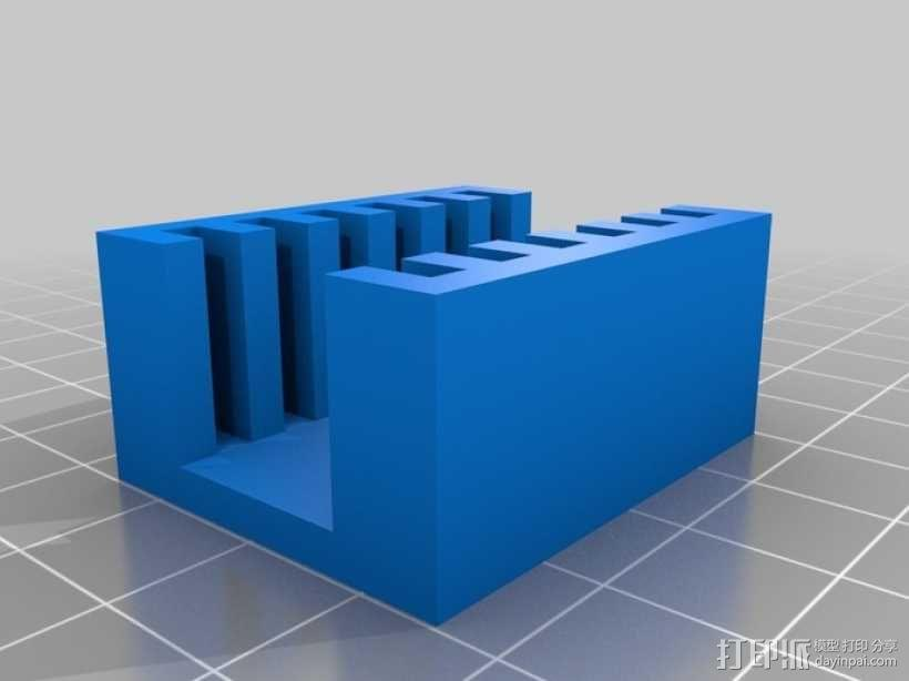 SD卡架 3D模型  图2