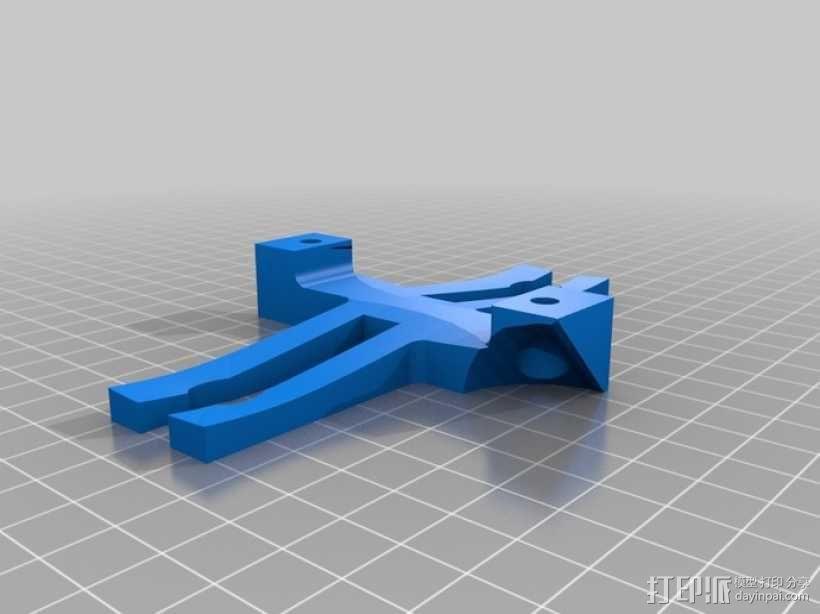 玻璃酒杯架 3D模型  图2