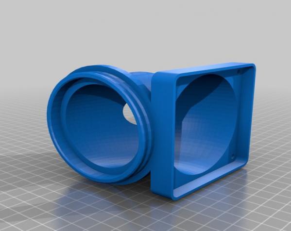 迷你驱虫电风扇 3D模型  图2