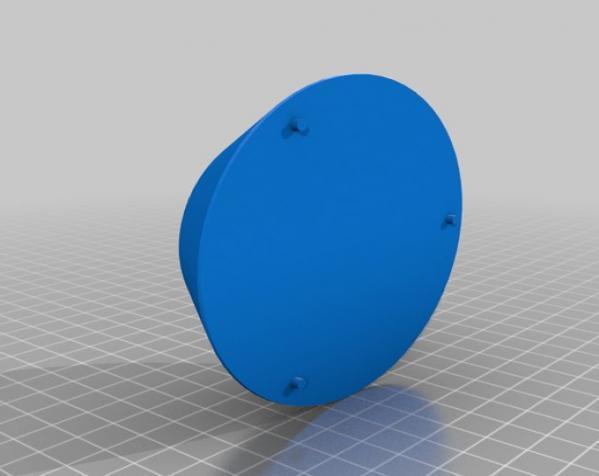 迷你驱虫电风扇 3D模型  图4