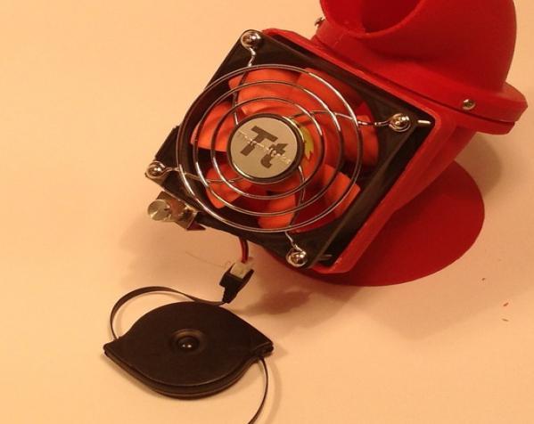 迷你驱虫电风扇 3D模型  图8