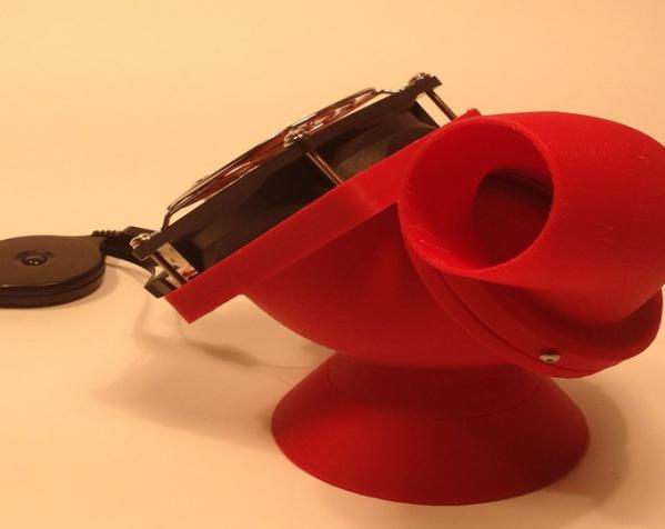 迷你驱虫电风扇 3D模型  图6
