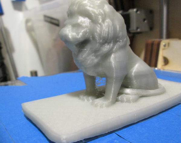 狮子收纳盒 3D模型  图1