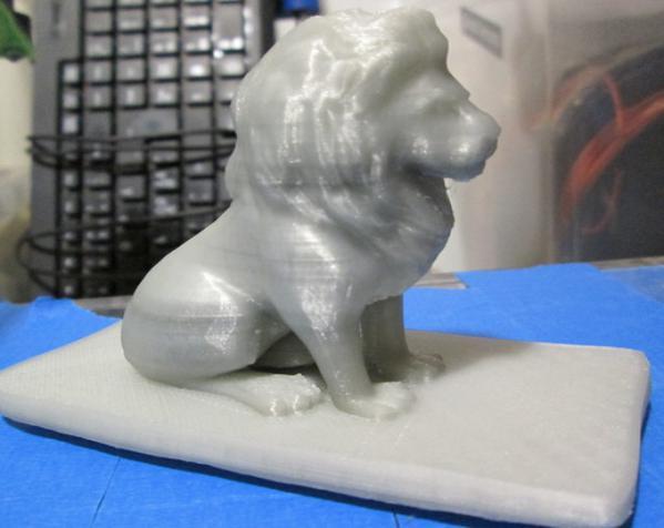 狮子收纳盒 3D模型  图3