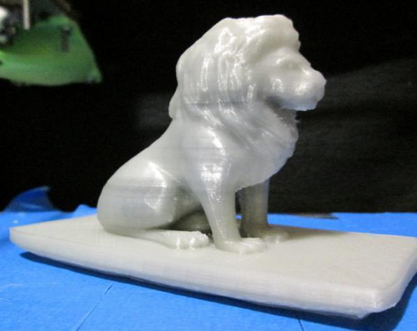 狮子收纳盒 3D模型  图2