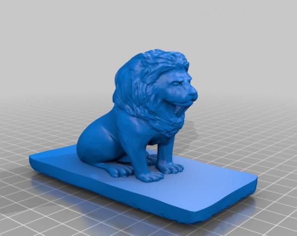 狮子收纳盒 3D模型  图8