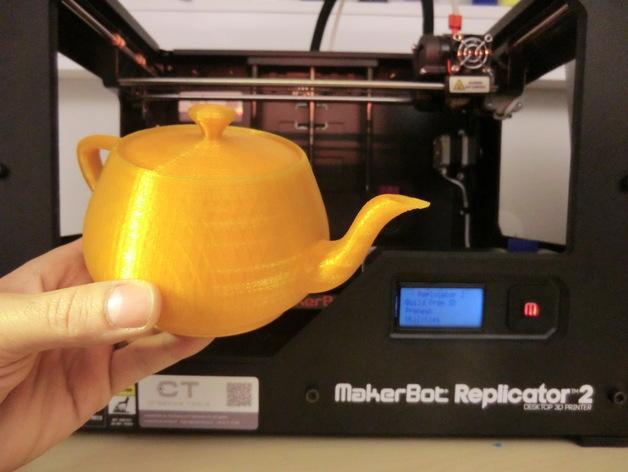 3D打印犹他茶壶 3D模型  图2