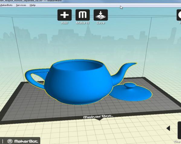 3D打印犹他茶壶 3D模型  图4