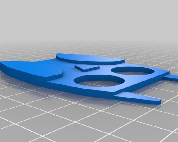 定制化数据线理线器 3D模型  图4