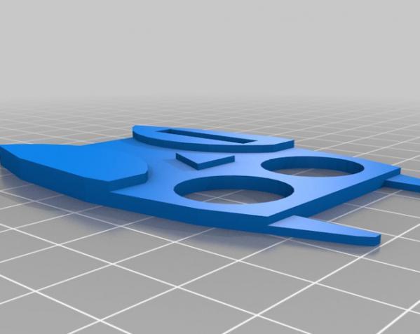 定制化数据线理线器 3D模型  图3