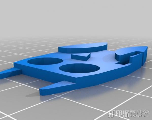 定制化数据线理线器 3D模型  图6