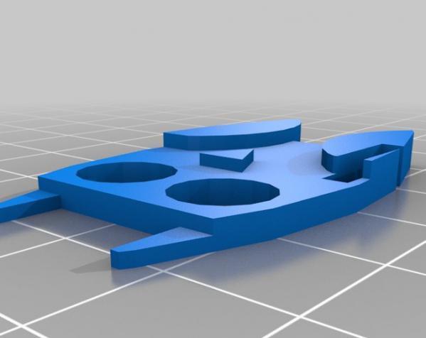 定制化数据线理线器 3D模型  图5