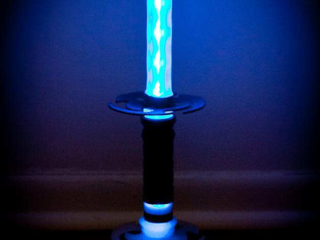 迷你彩色LED灯 3D模型  图2