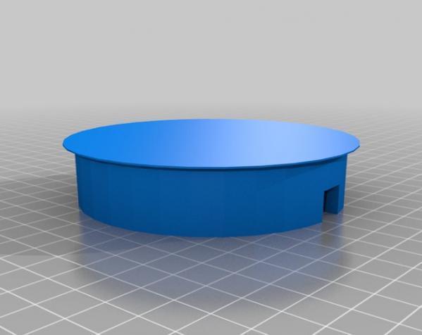 迷你彩色LED灯 3D模型  图6