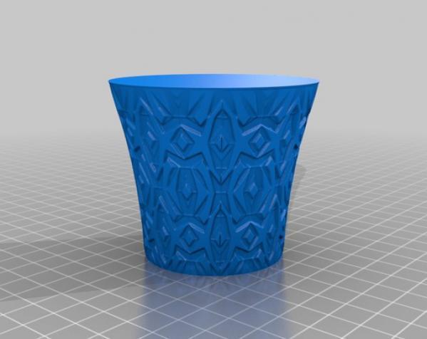 迷你茶杯/花瓶 3D模型  图1