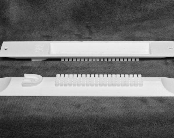 门柱圣卷小盒 3D模型  图3