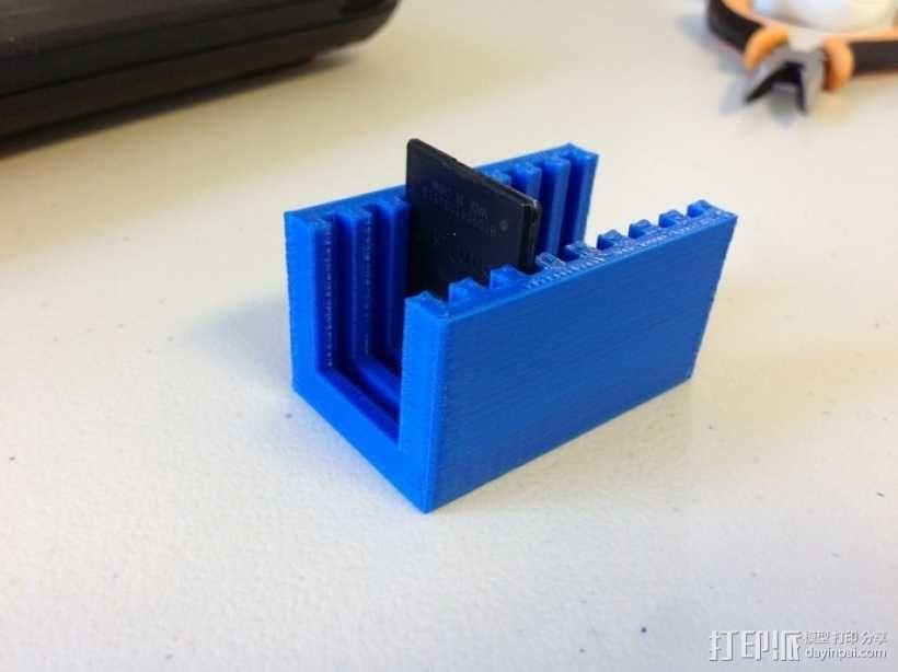 SD卡架 3D模型  图4