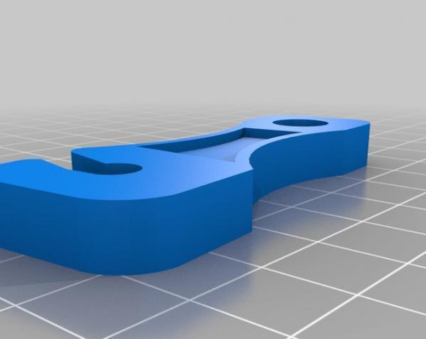 简易绳索拉紧器 3D模型  图3