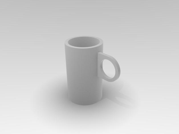 定制化茶杯 3D模型  图1