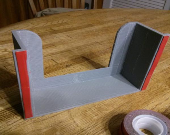 壁挂式湿纸巾架 3D模型  图4