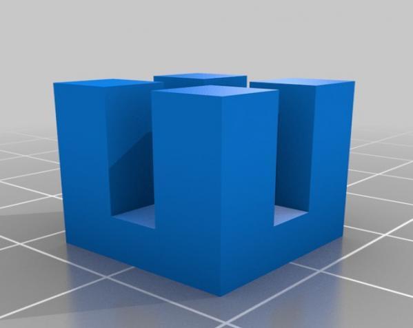定制模块化俄罗斯方块形架 3D模型  图5