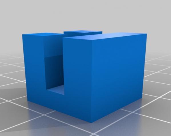 定制模块化俄罗斯方块形架 3D模型  图13