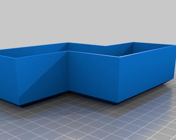 定制模块化俄罗斯方块形架 3D模型  图14