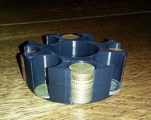 迷你硬币架 3D模型  图1
