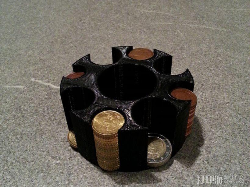 迷你硬币架 3D模型  图3