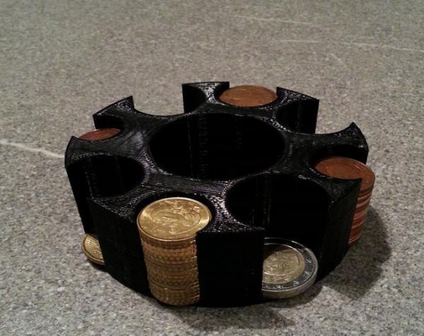 迷你硬币架 3D模型  图4