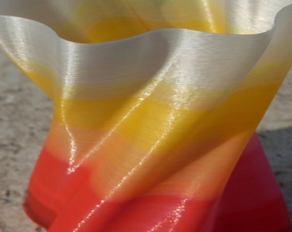 个性化螺旋花瓶 3D模型  图1