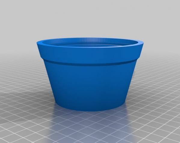 迷你三叶草盆栽 3D模型  图5