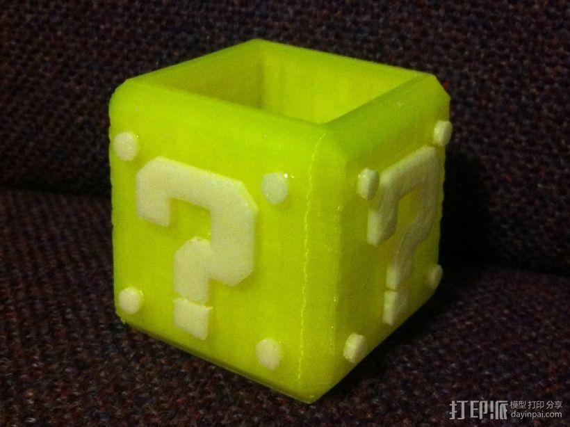 马里奥问号形小酒杯 3D模型  图7
